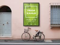 Frida Kahlo Exhibition Outdoor Poster 2
