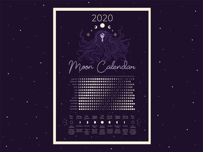 Magic moon calendar