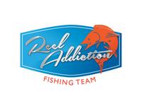 Reel Addiction Fishing Team Logo Option