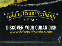 Mi Apa Latin Cafe #DeliciouslyCuban Campaign