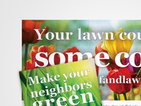 Landscaping Ad Campaign