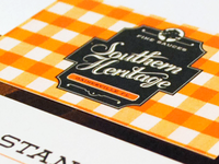 Southern Heritage Business Cards