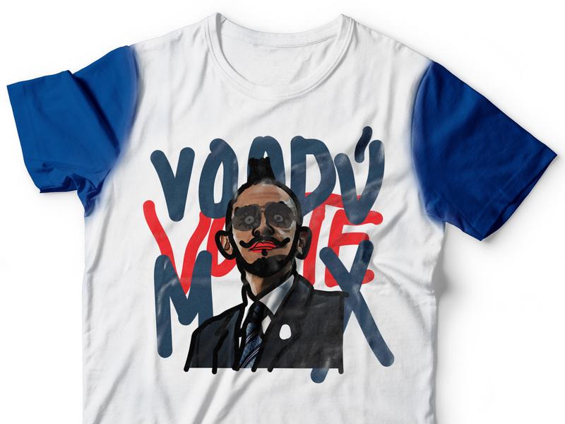 Vote VooduMx T-shirt design mexico election day elections illustration graffiti president vote tshirt brand voodumx apparel