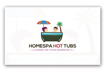 HOME SPA HOT TUBS logo