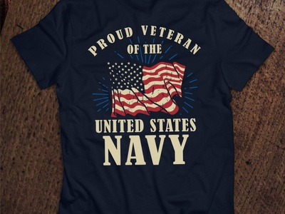 Proud Veteran Of The United States NAVY