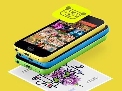 FSP 2013 iPhone app ios iphone app application ui mobile ios7 festival fsp