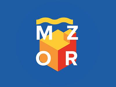 MZOR logo logo branding factory coworking