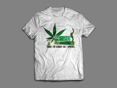 Spliff T-Shirt Design