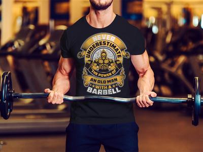 Fitness/Gym T-Shirt Design