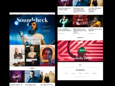 Music Website  [WiP]