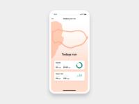 Run Analysis In App | Daily UI Challenge #020 analysis ui analysis analyse your run running app dailyui ios app design app 100 day challenge 020