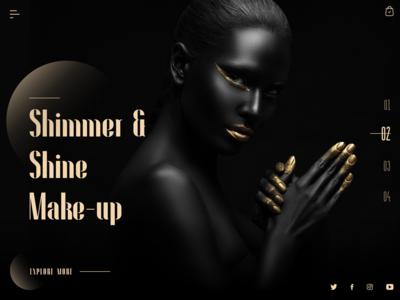 Shimmer & Shine Make - up Landing Page