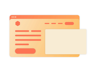 Illustration Web Design minimal blog gradient color minimal webdesign design motiongraphics animation illustration