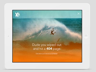 404 - XS ipad flat design ios7 ui design ux design widget interface design mobile design