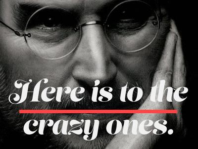 TYPE steve jobs quote apple design graphic design typography typeface
