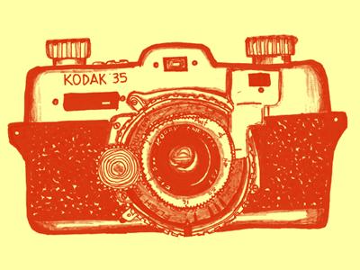 Antique Kodak Camera.