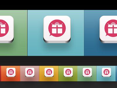 App Icon Colour Testing iphone app icon