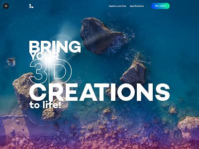 Slider Concept website animation web branding ux adobe photoshop design ui interaction adobe xd