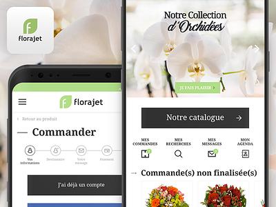 Florajet ui app