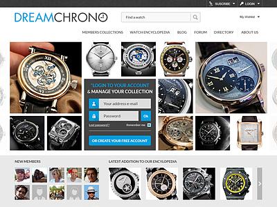 Dreamchrono website marketplace