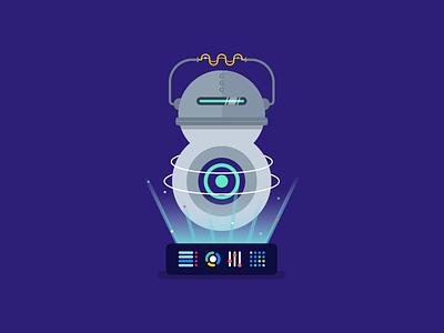 Super8 September 2018 space space ship digital website web design branding august articles super8 design article animation blog illustration vector