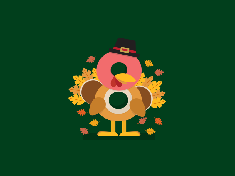 Super8 November thanksgiving turkey icon articles august super8 design article blog illustration vector