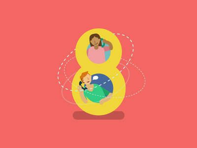 Super8 February 2019 web digital agency inspiration creative iconography icon ux ui web design articles super8 august design article animation blog illustration vector