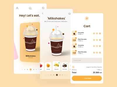 Food Delivery App adobe inspiration adobbe xd ui design ux design app food delivery ui design