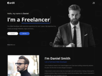 CardX - Modern Personal Portfolio