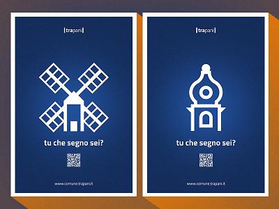 City Identity - leggere e progettare l'identità di una città italy sicily urban brand city logos identity trapani