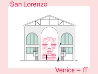 San Lorenzo – minimalist illustration