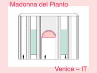 Madonna del Pianto – minimalist illustration