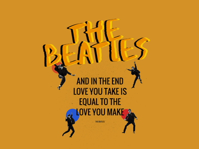 The Beatles Band Landing Page artist band music thebeatles