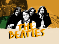 The Beatles Band Landing Page