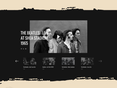 The Beatles Band Landing Page thebeatles music band artist