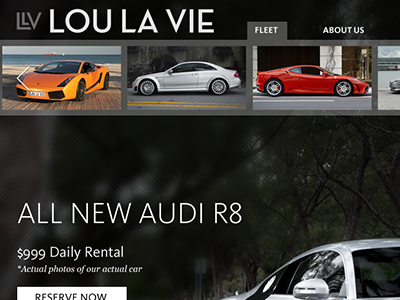 Lou La Vie cars exotic website audi