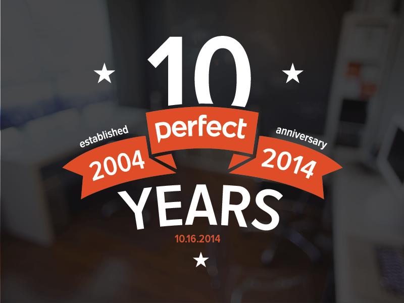 10 years perfect 10 10 years anniversary