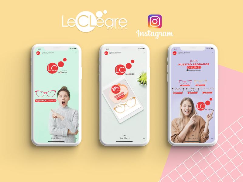 Diseño de contenido para RR.SS | Lecleare socialmedia instagram post rr.ss design