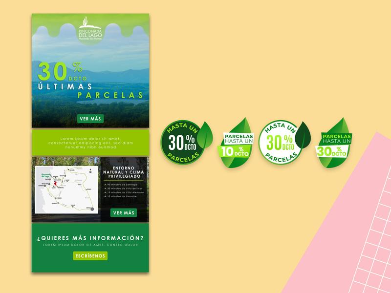 Mailing | Rinconada mailing branding design