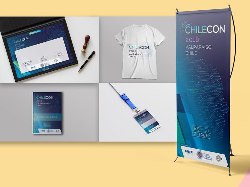 Proyecto Chilecon 2019 Valparaíso identity design branding design