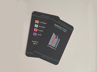 Business card // fefdesign 2018 graphic design business card