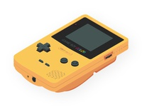 Isometric GameBoy Color