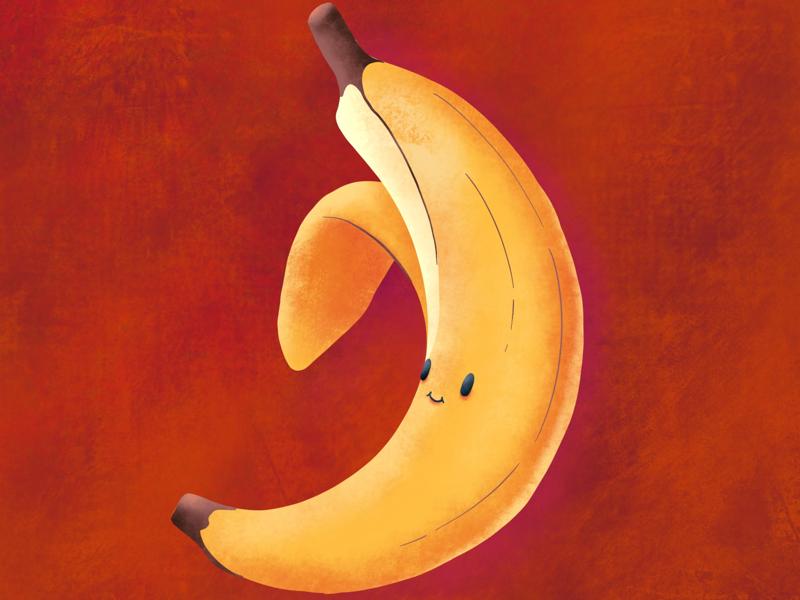 Banana procreate