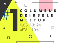 First Columbus Dribbble Meetup