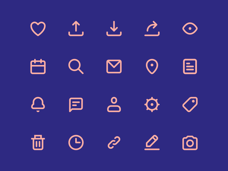 Vectly free icons