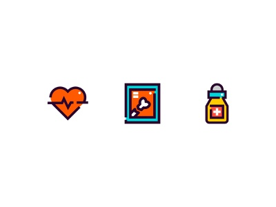 Health Icon set Illustration Design icon design icon set icon healthcare health digitalart branding ui digitalartist design inspiration art adobe illustrator design vector illustration