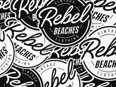 Logo Stickers for Rebel Beaches