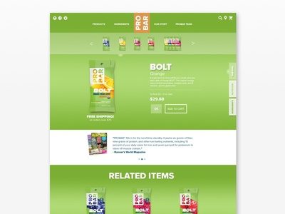 PROBAR Product Pages