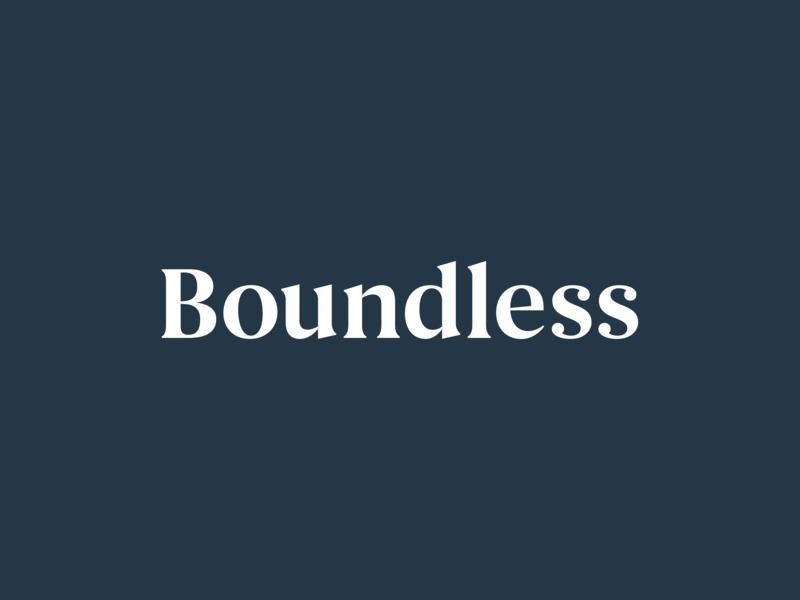 Boundless Rugs Branding begum font navy blue navy serif begum branding logo boundless