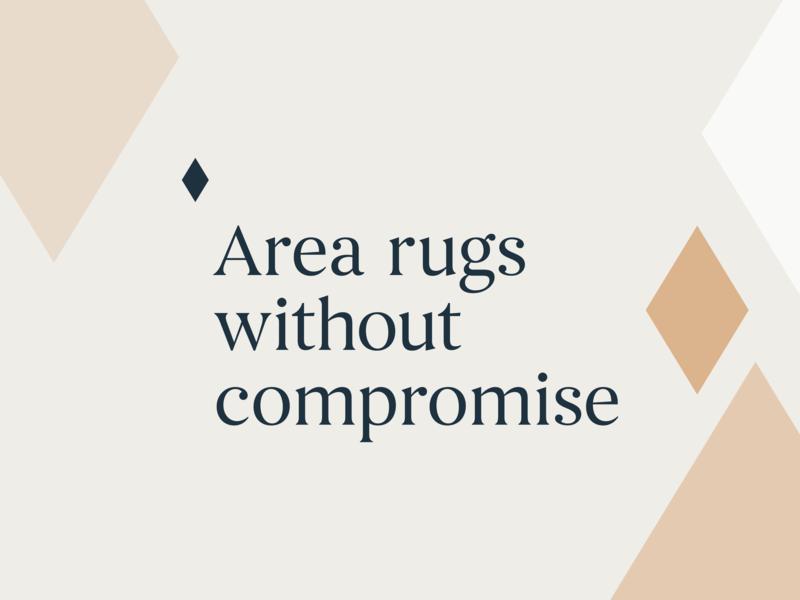 Boundless Rugs Tagline begum font begum nude navy diamond branding tagline boundless rugs boundless